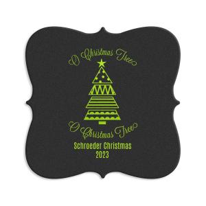 O Christmas Tree Coaster