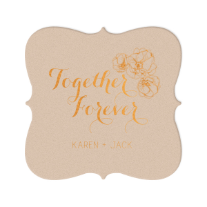 Together Forever Coaster