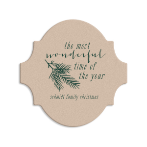 Pine Christmas Coaster