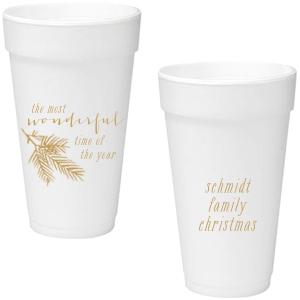 Pine Christmas Cup
