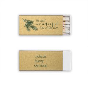 Pine Christmas Match