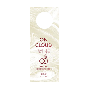 On Cloud Wine Wine Tag