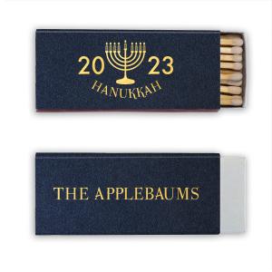Menorah Hanukkah Match