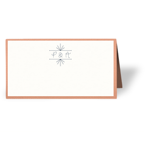 Line Frame Place Card
