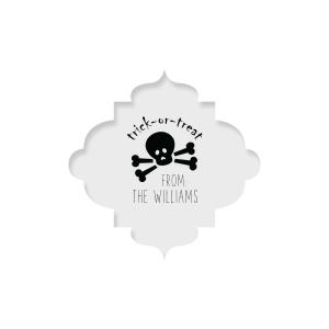 Skull Label