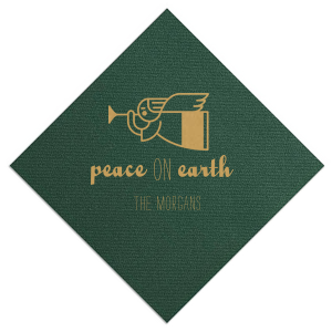 Peace On Earth Napkin