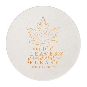 Autumn Leaves Coaster