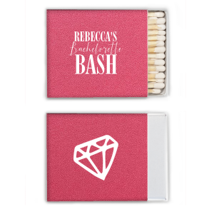 Bachelorette Bash Matchbox