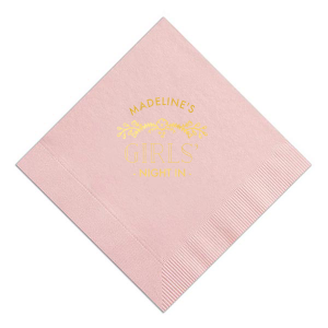 Girls' Night In Napkin