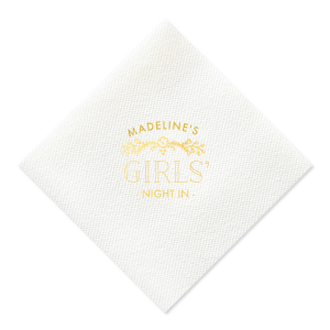 Girls' Night In Napkin