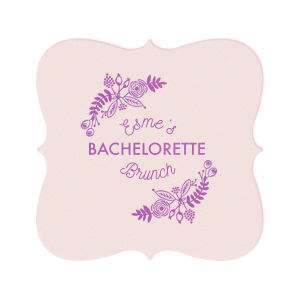 Bachelorette Brunch Coaster
