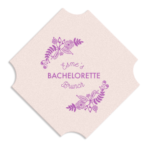 Bachelorette Brunch Coaster