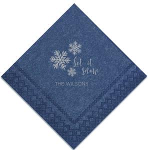 Let it Snow Napkin