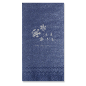 Let it Snow Napkin