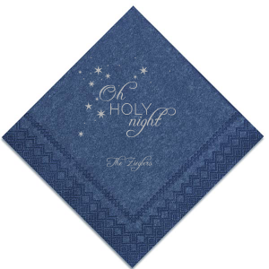 Oh Holy Night Napkin