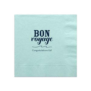 Bon Voyage Napkin