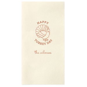 Turkey Day Napkin
