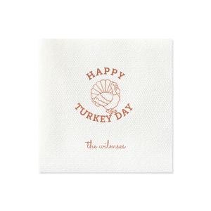 Turkey Day Napkin
