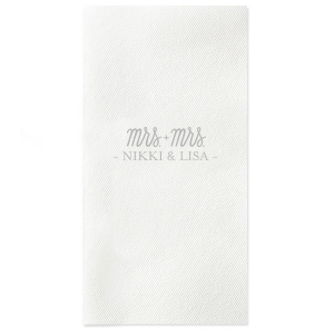 Mrs. and Mrs. Napkin