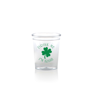 Drink Me I'm Irish Shot Glass