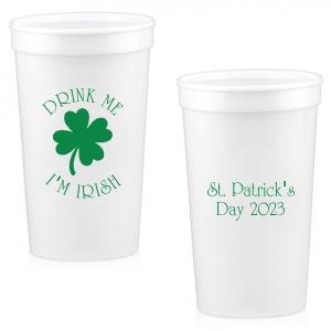 Drink Me I'm Irish Stadium Cup