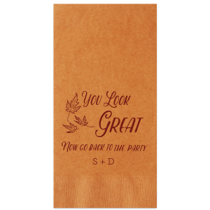 You Look Great Guest Towel