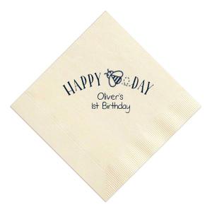 Happy Bee Day Napkin