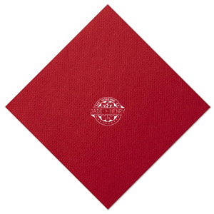Wedding of Badge Napkin