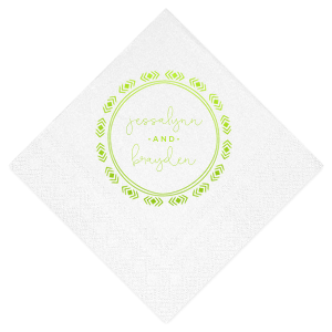 Diamond Wreath Napkin