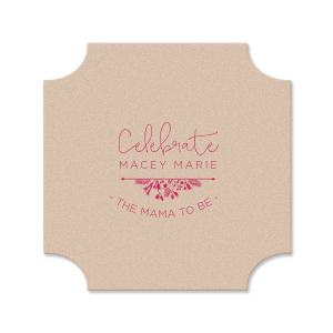 Celebrate The Mama To Be Coaster
