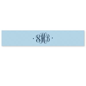 Romantic Monogram Ribbon