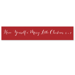 Have Yourself A Merry Little Christmas Ribbon