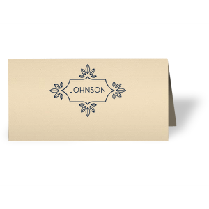 Love Buds Place Card