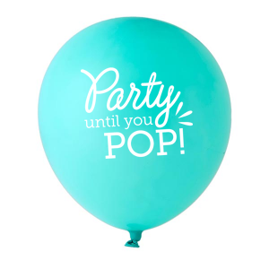 Party Until You Pop Balloon