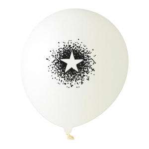 Dotted Star Balloon