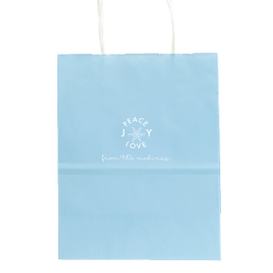 Joy Snowflake Gift Bag