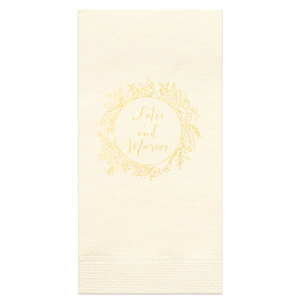 Sweet Wreath Guest Towel