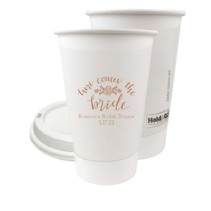 Here Comes the Bride Paper Cup
