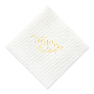 Happily Ever After Napkin