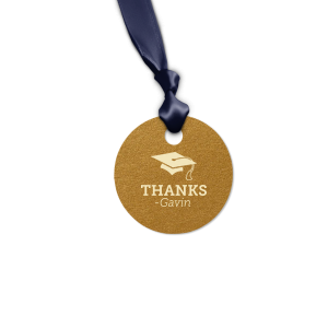Graduation Thank You Tag
