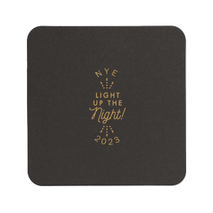 Light Up The Night NYE Coaster
