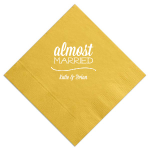 Almost Married Napkin