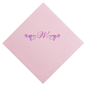 Letter with Accent Napkin
