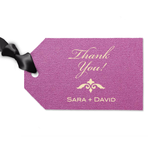 Thank you Fancy Gift Tag