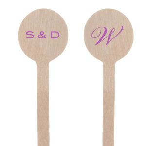Initials Stir Stick