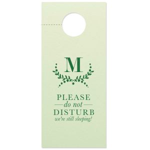 Branch Monogram Door Hanger