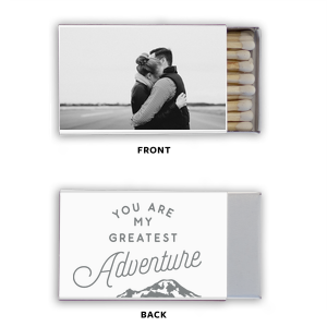 Greatest Adventure Photo/Full Matchbox