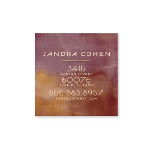 Full Address Business Card