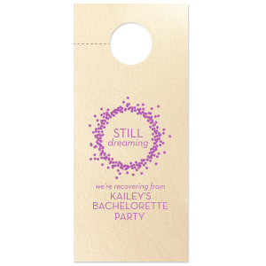Still Dreaming Confetti Door Hanger