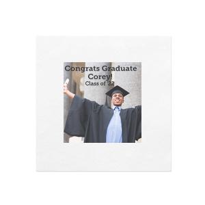 Graduation Photo/Full Color Napkin
